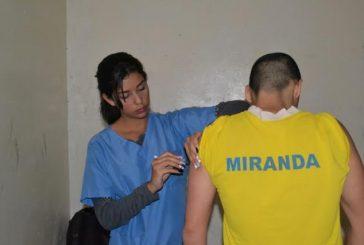 43 privados de libertad en Policarrizal fueron inmunizados con toxoide y Hepatitis B