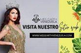 Certamen Miss Venezuela Earth estrenó página web