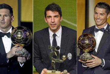 Buffon, Messi y Cristiano, candidatos a mejor jugador de la UEFA