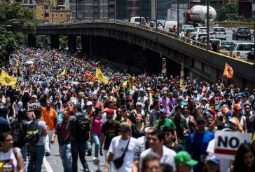Oposición marchará desde cinco puntos de la ciudad hacia la AN