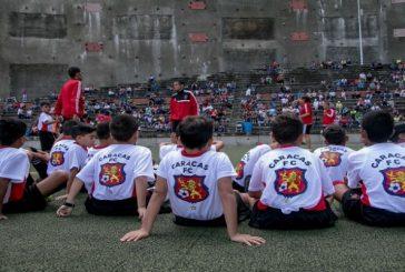 Inaugurado el Plan Vacacional 2017 del Caracas FC