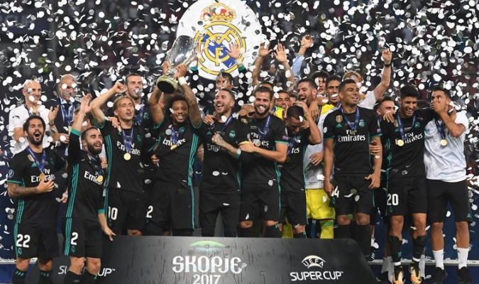 Real Madrid ¡Supercampeones de Europa!