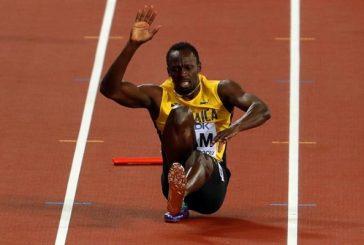 Bolt se rompió en plena final de los 4×100