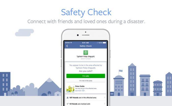 """Facebook hace más accesible función """"Safety Check"""" para sus usuarios"""