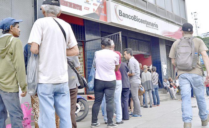 Límite de retiro en bancos  no supera los Bs. 50 mil diarios