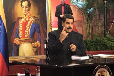 Maduro: Estamos en el peor momento de la relación con el gobierno de Estados Unidos