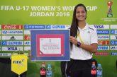 """Ya puedes votar por Deyna Castellanos al premio """"The Best"""" de la FIFA"""