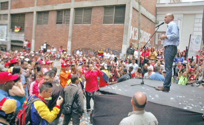 Héctor Rodríguez arranca para la Gobernación de Miranda
