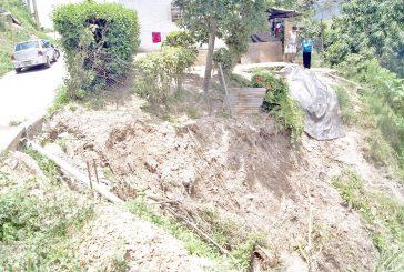 12 casas en alto riesgo  deja aguacero en  Variantes de Guayas