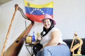 Mariángel Bello, una imponente cantante del folclore venezolano