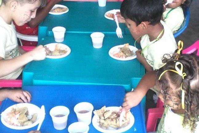 Hogares Mirandinos garantizan 75% de la comida para niños