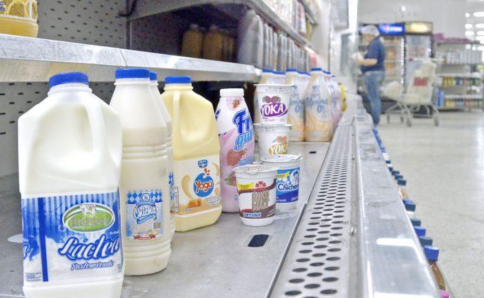 Reducen la compra de lácteos  en el mercado familiar