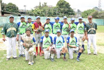 Montañeros campeón  de beisbol juvenil A