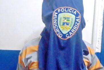 Policarrizal detiene a  un hombre solicitado