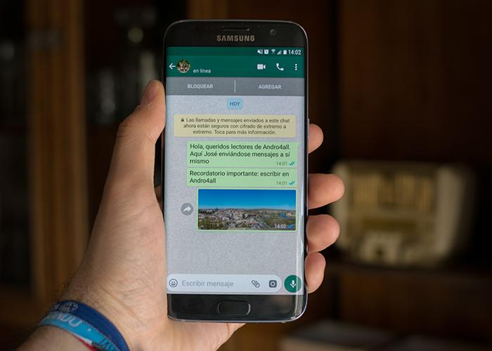 La última WhatsApp ya incluye pagos