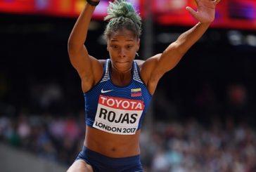 Yulimar Rojas pasa a la final de salto triple en el Mundial de Atletismo