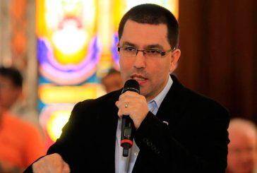 Arreaza agradeció a Rusia y China por apoyo a Venezuela