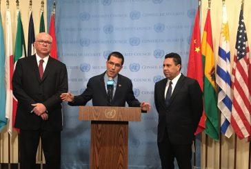 Canciller Arreaza: Tomaremos medidas para evitar que sanciones de EEUU afecten al pueblo