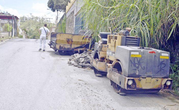 Culminan labores de asfaltado en El Golf