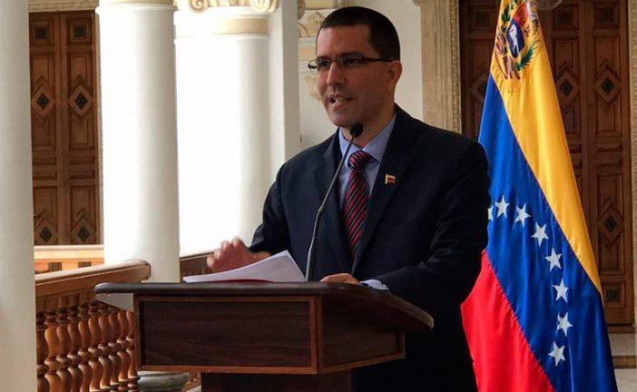 Arreaza: Gobierno de Colombia protege la corrupción y el delito en Venezuela