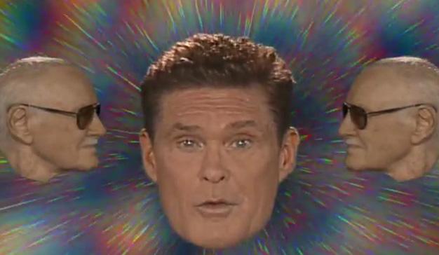 """David Hasselhoff canta y baila en la nueva campaña de """"Guardianes de la Galaxia 2"""""""