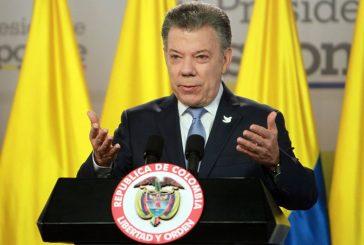 Santos a las FARC: El conflicto realmente termina y comienza una nueva nación