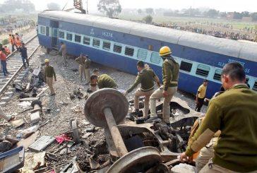 Asciende a 23 muertos y 64 heridos balance de accidente de tren en India