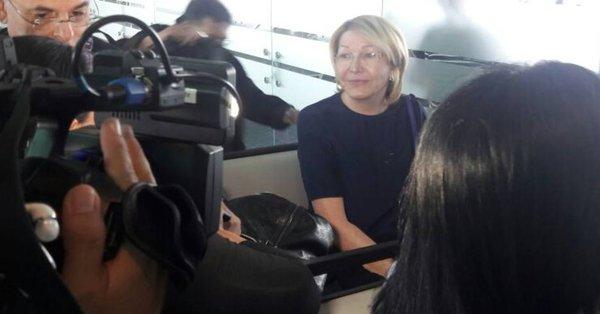 Luisa Ortega dejó Colombia con rumbo a Brasil