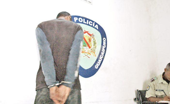Preso desvalijador de vehículos  en Galerías Bolívar