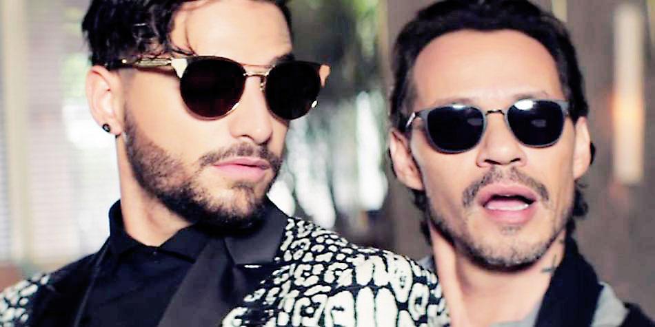 """Maluma y Marc Anthony estrenan  video de """"Felices los 4"""""""