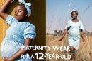 ¿Ropa para embarazadas de 12 años? Todo tiene una razón de ser en esta impactante campaña