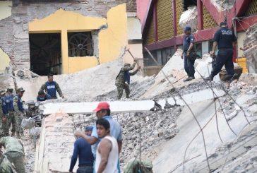 Autoridades: Al menos 61 muertos por terremoto de 8,2 en México