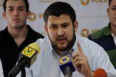 Smolansky denunciará golpe de Estado en Venezuela en Noruega