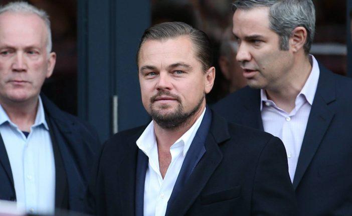 DiCaprio dona 20 millones para combatir el cambio climático