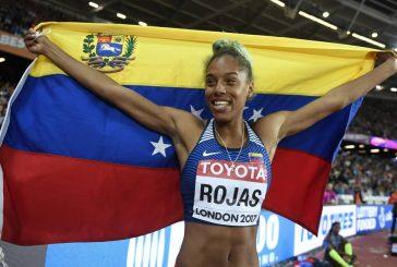Yulimar Rojas fue electa mejor atleta femenina de América