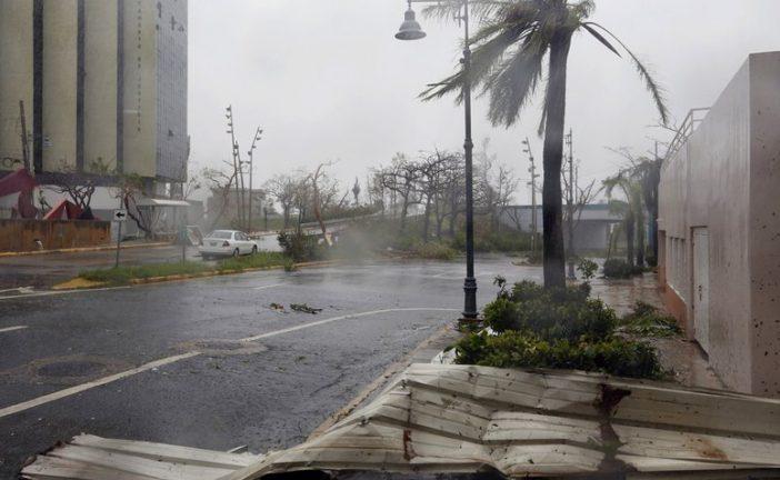 María dejó daños severos en Puerto Rico y se desplaza a Dominicana