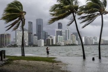 """Irma"" toca tierra en Marco Island"