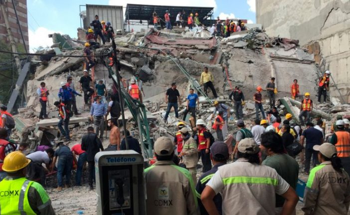 México: Autoridades elevan a 119 los fallecidos tras terremoto de 7.1