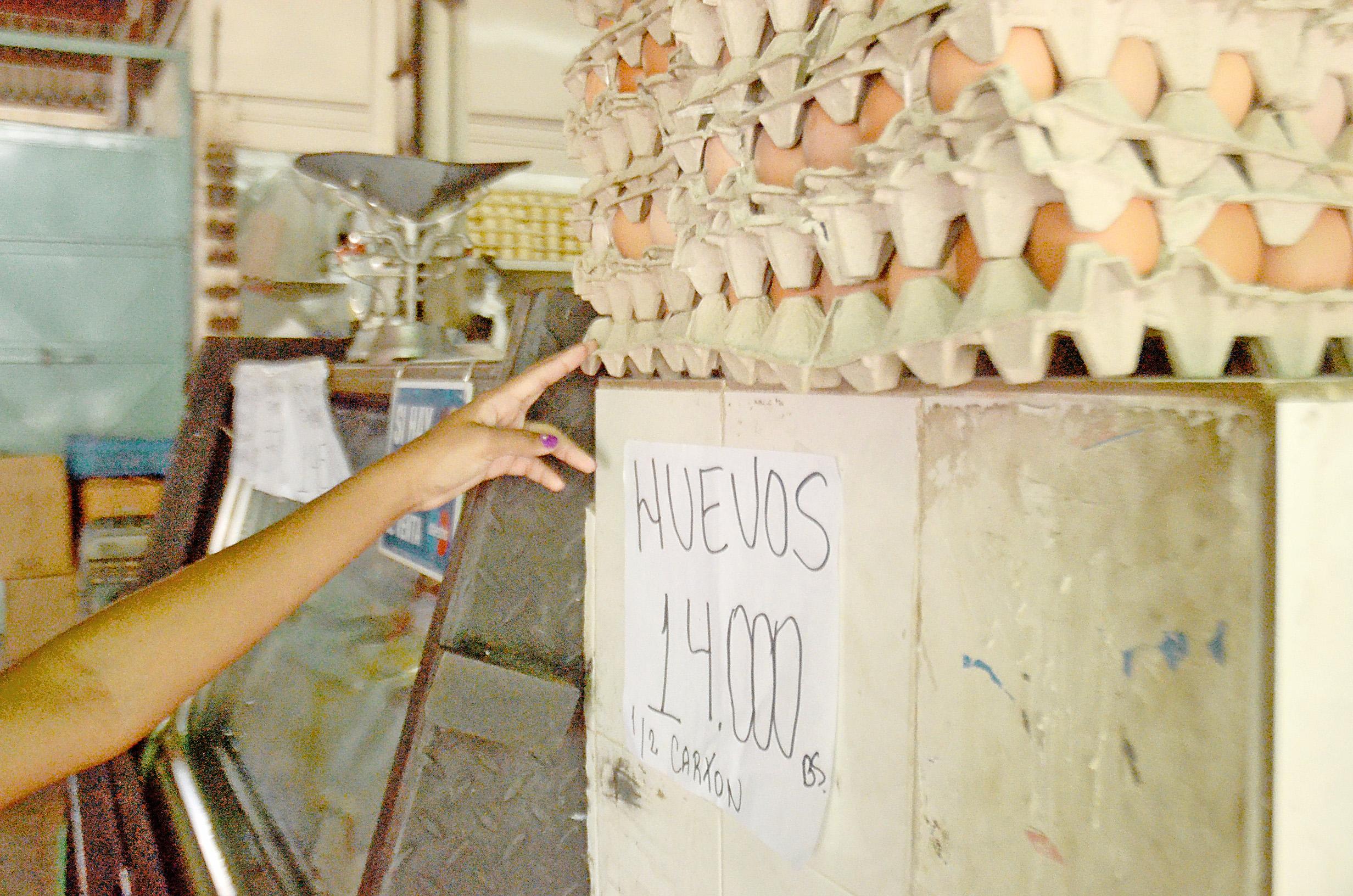 En seis meses los huevos  aumentaron 200%