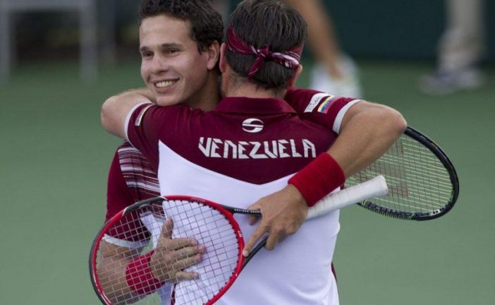 Venezuela ganó en dobles de Copa Davis