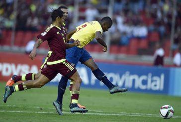 Venezuela y Colombia empatan a 0 en juego de vuelta de la eliminatoria