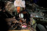 Asciende a 286 el número de víctimas por el terremoto en México
