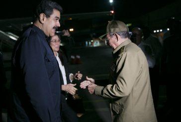 Maduro llegó a Cuba para entregar donación por huracán Irma