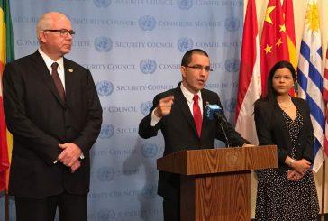 Canciller Arreaza acusa a Trump de vulnerar los principios de la ONU