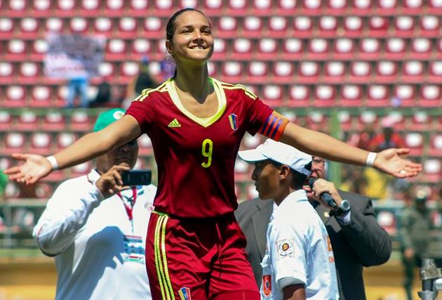 ¡Orgullo nacional! Deyna Castellanos es una de la tres finalistas a mejor jugadora FIFA de 2017