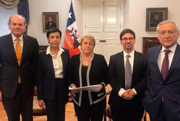 Bachelet recibió a Freddy Guevara y a la madre de Leopoldo López