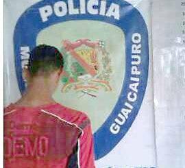 Tres aprehendidos dejó  despliegue de Poliguaicaipuro
