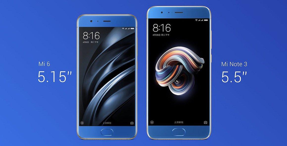Xiaomi presentó Mi Note 3, un teléfono con pantalla gigante