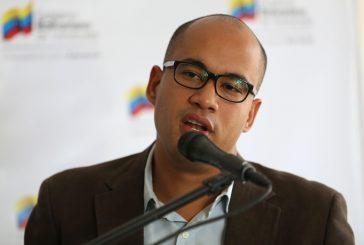 Rodríguez calificó como valiente disposición de dirigentes políticos para dialogar