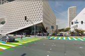 Carlos Cruz Diez convirtió en obra de arte paso peatonal de Los Ángeles